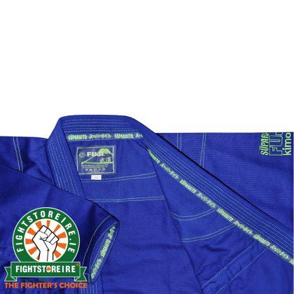 Fuji Suparaito BJJ Gi - Blue with Green - Fi
