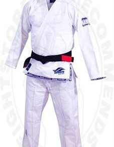 Fuji Suparaito Gi - White with Navy