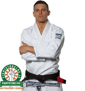 Fuji Suparaito BJJ Gi - White with Navy
