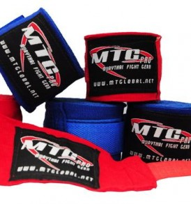 MTG EHW Pro 5m Elasticated Hand Wraps