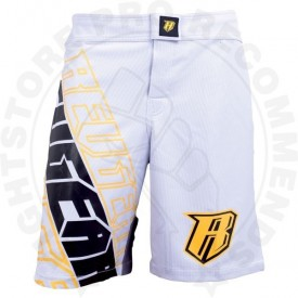 Revgear Centurion MMA Shorts - White and Yellow