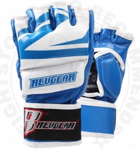 Revgear Deluxe Pro 7oz Sparring Gloves - Blue