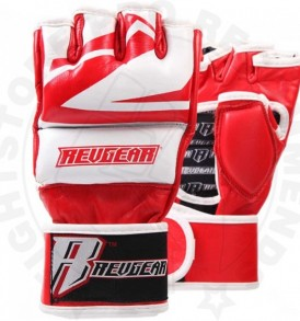 Revgear Deluxe Pro 7oz Sparring Gloves - Red