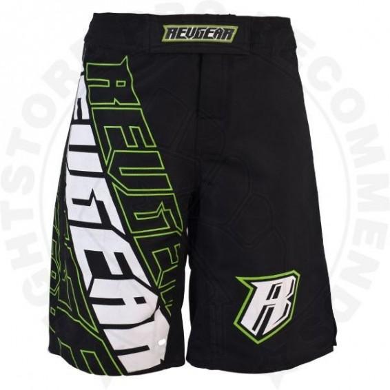 Revgear Kids MMA Shorts - Black / Green