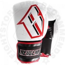 Revgear Sentinel Gel Pro Boxing Gloves - White