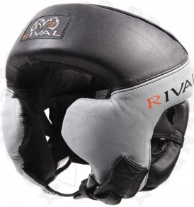 Rival Pro Training Head Guard - Black