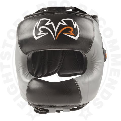 Rival RHGFS1 Face-Saver Boxing Headgear - Black/Grey