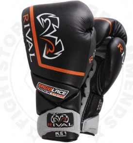 Rival RS1 Pro Sparring Gloves - Black
