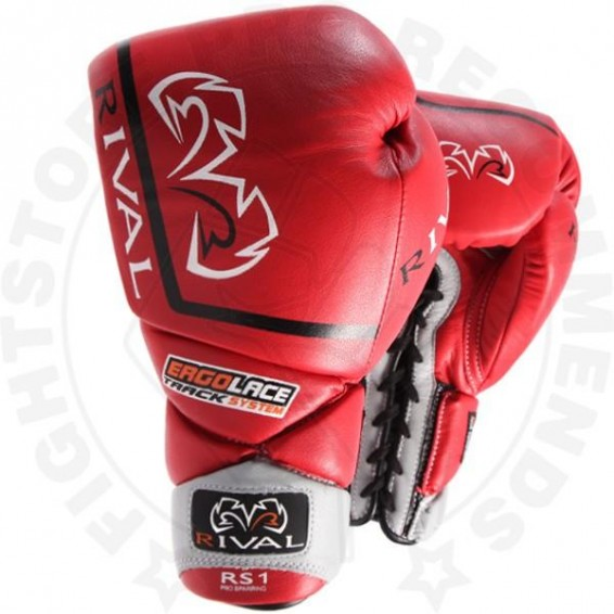 Rival RS1 Pro Sparring Gloves - Red