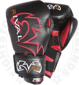 Rival RS11V Evolution Sparring Gloves Black and Red