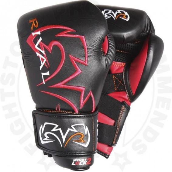 Rival RS11V Evolution Sparring Gloves Black and Red