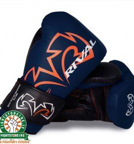 Rival RS11V Evolution Sparring Gloves Blue   Fight Store IRELAND