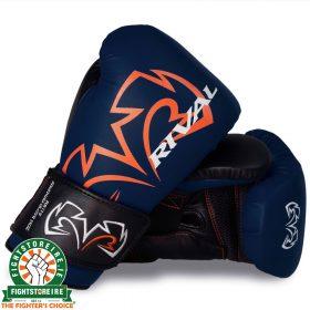Rival RS11V Evolution Sparring Gloves Blue | Fight Store IRELAND