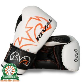 Rival RS11V Evolution Sparring Gloves White | Fight Store IRELAND