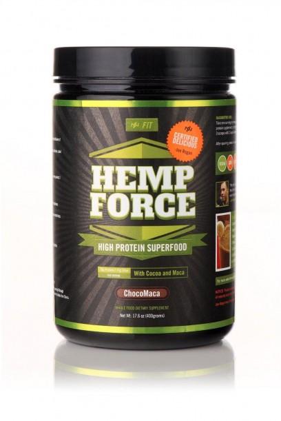Hemp FORCE ChocoMaca (400gm Tub)