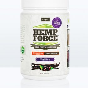 Hemp FORCE Vanill-Açaí (400gm Tub)