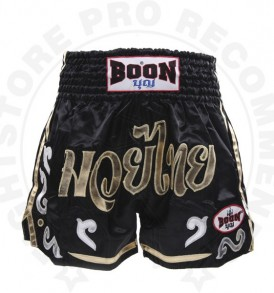 Boon MT35 Silver Swirl Muay Thai Shorts