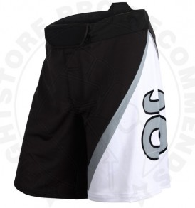 Tenacity Resurgence Fight Shorts (Black/Silverlake)