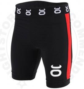Tenacity Vale Tudo Fight Shorts (Black/Red)