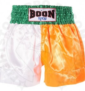 Boon MT01 Irish Flag Muay Thai Shorts