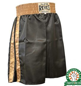 Cleto Reyes Boxing Shorts – Black/Gold
