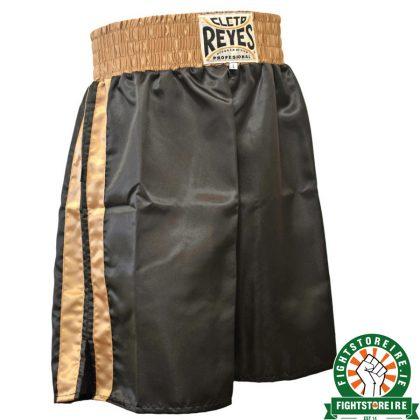 Cleto Reyes Boxing Shorts – Black/Gold