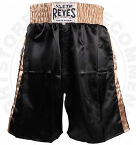 Cleto Reyes Boxing Shorts - Black/Gold