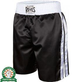 Cleto Reyes Boxing Shorts - Black/White