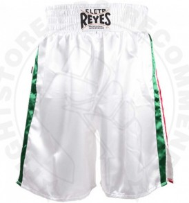 Cleto Reyes Boxing Shorts-Mexican Flag