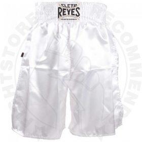 Cleto Reyes Boxing Shorts - White Special