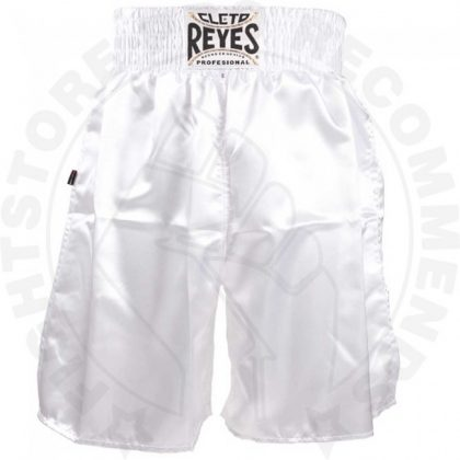 Cleto Reyes Boxing Shorts - White Special