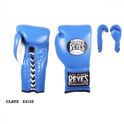 Cleto Reyes Lace Up Sparring Gloves – Blue