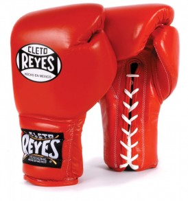 Cleto Reyes Lace Sparring Gloves 14oz Red