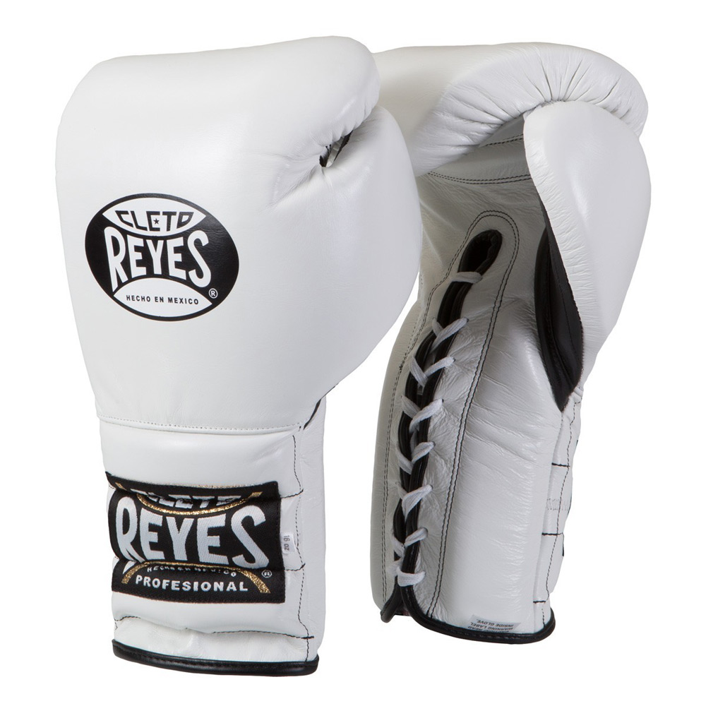 Cleto Reyes Traditional Lace Up Training Boxing Gloves Blue
