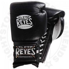 Cleto Reyes Lace Sparring Gloves 16oz Black
