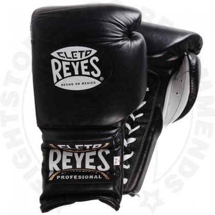 Cleto Reyes Lace Sparring Gloves 16oz Black