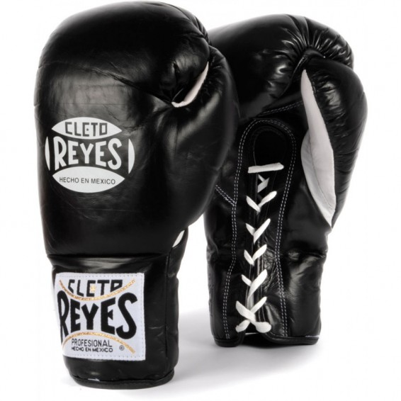 Cleto Reyes Official Boxing Gloves - Black