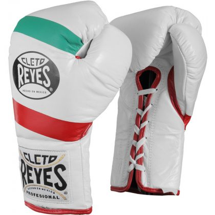Cleto Reyes Official Boxing Gloves - Mexican Flag