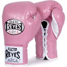Cleto Reyes Official Boxing Gloves - Pink
