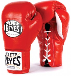 Cleto Reyes Official Boxing Gloves - Red