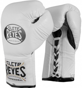 Cleto Reyes Official Boxing Gloves - White