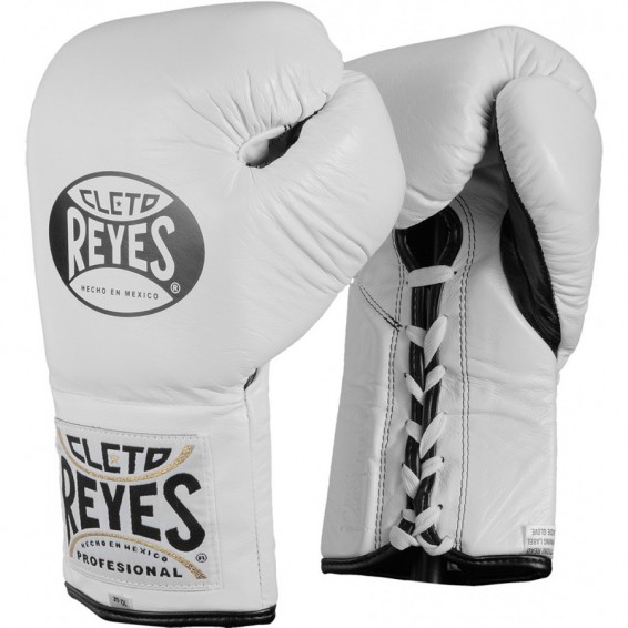 Cleto Reyes Official Boxing Gloves - White