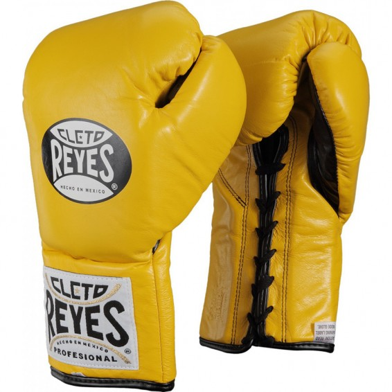 Cleto Reyes Official Boxing Gloves - Yellow