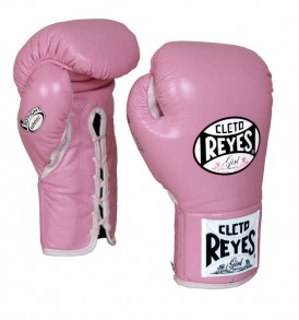 Cleto Reyes Safetec Boxing Gloves – Pink