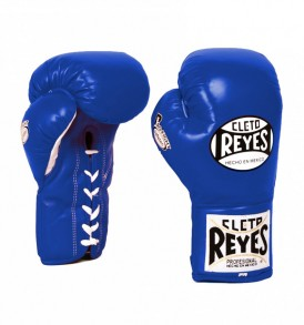 Cleto Reyes Safetec Boxing Gloves - Blue