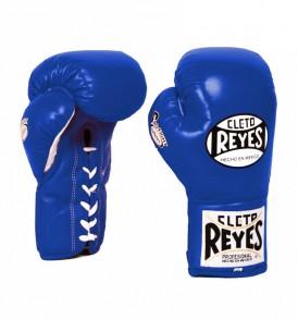 Cleto Reyes Safetec Boxing Gloves - Blue