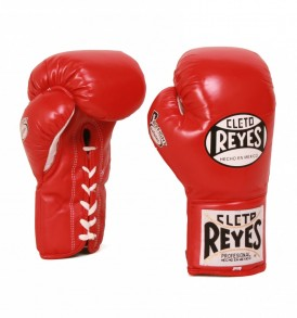 Cleto Reyes Safetec Boxing Gloves - Red