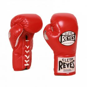 Cleto Reyes Safetec Boxing Gloves - Red