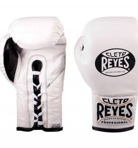 Cleto Reyes Safetec Boxing Gloves - White