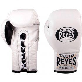 Cleto Reyes Safetec Boxing Gloves - White